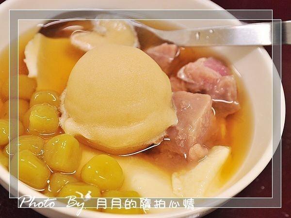 大溪美食福麻糬豆花紫地瓜福利社泡泡冰