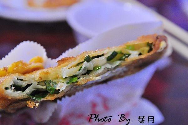 宜蘭三星—阿婆蔥油餅–蔥多味濃,香酥夠味 @民宿女王芽月-美食.旅遊.全台趴趴走