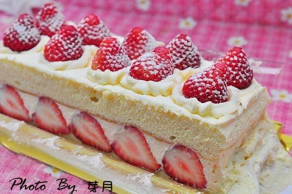 基隆團購美食郃嘉北海道雙層草莓蛋糕