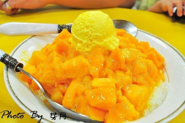 宜蘭礁溪台北冰館好吃超級芒果冰