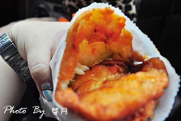 宜蘭美食河濱公園下午茶台式漢堡