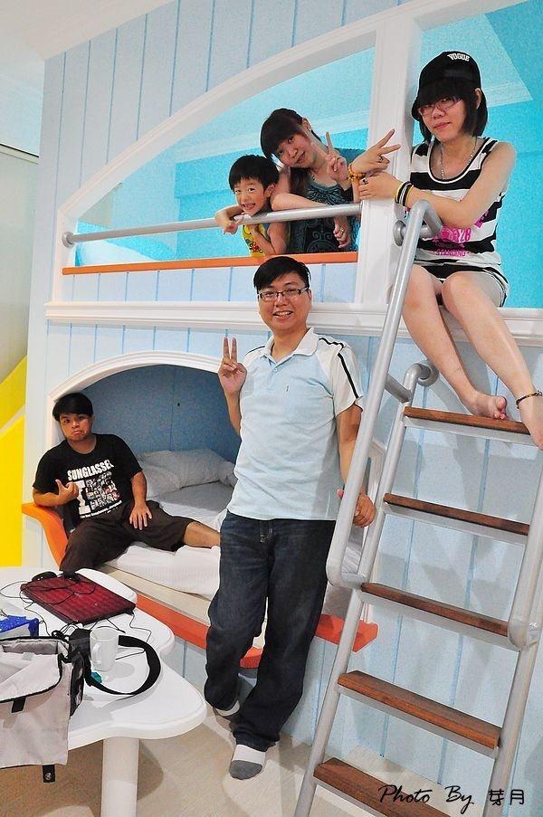 台南大港街124巷花園民宿航海家溜滑梯房