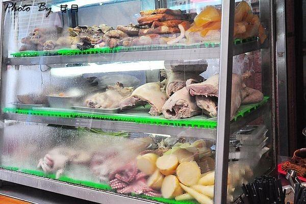 蘇澳美食阿暖鵝肉店綜合魚雜嘴邊肉好吃推薦