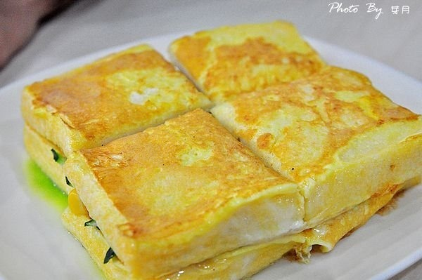 宜蘭羅東火車站美食水如意早餐三星蔥蔬菜蛋餅法式土司好吃推薦