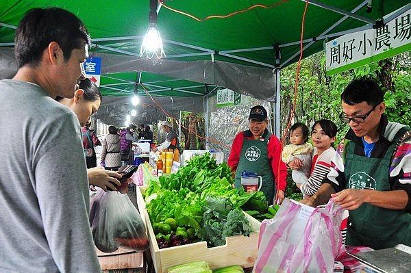 新北市林口–台地農夫市集–新鮮蔬果直接上桌,分享美好生活的市集 @民宿女王芽月-美食.旅遊.全台趴趴走