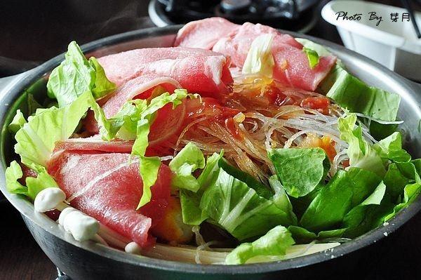 龍潭美食尚鮮一鍋牛奶個人鍋涼麵吃到飽自助沙拉吧