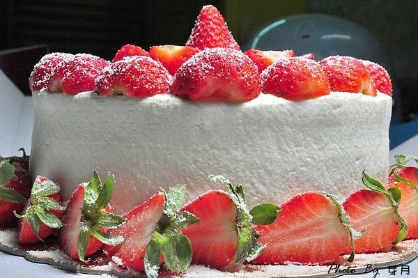 六吋,團購美食,滷學學工坊,爆炸,花開富貴,草莓蛋糕,龍潭美食 @民宿女王芽月-美食.旅遊.全台趴趴走