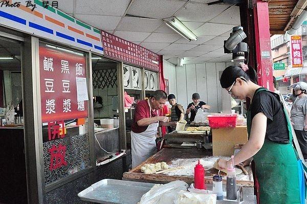 中壢工業區美食早餐永清豆漿手工蛋餅炒麵福州二街