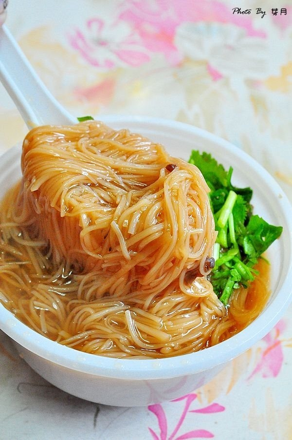 龍潭美食龍元宮廟口小吃無名大腸麵線肉圓豬血湯在地人30年下午茶宵夜