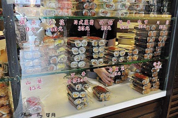 桃園美食大廟中正路老賊壽司老店干貝蒲燒鰻起司