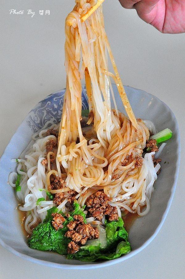 平鎮美食吃米干綜合肉燥耙耙絲在地人好吃推薦