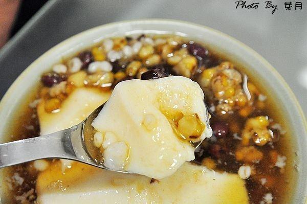 龍潭美食渴望會館b1商店街四季豆花仙草凍黑糖鳳梨冰