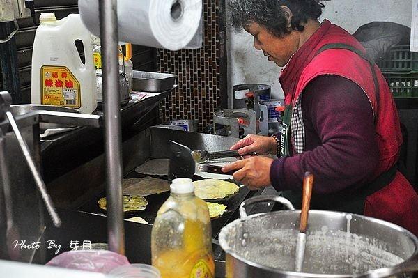桃園楊梅埔心美食無名早點萬駿駕訓班手工古早味粉漿蛋餅中式早餐在地人糯米飯糰