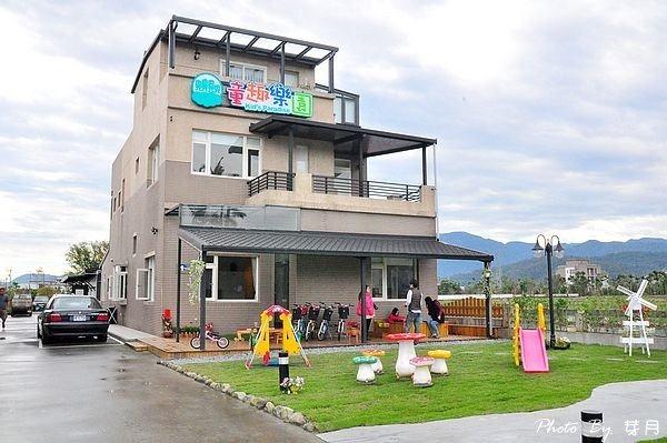 宜蘭冬山溜滑梯童趣樂園親子民宿