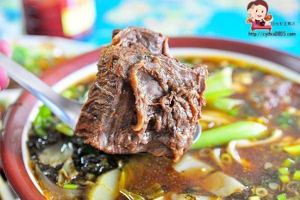 龍潭菜市場新埔粄條客家牛肉麵