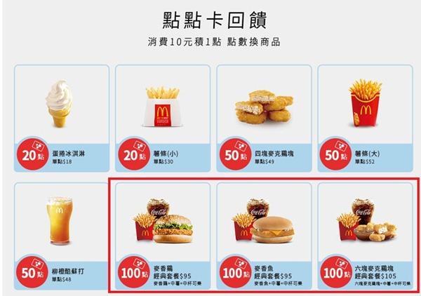 全台麥當勞好康-麥當勞點點卡-前20萬名送一百點,等於免費送套餐 @民宿女王芽月-美食.旅遊.全台趴趴走