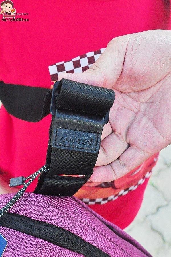 團購好物-KANGOL英國袋鼠包-15吋筆電帶著走,舒適好看又減壓 (邀約) @民宿女王芽月-美食.旅遊.全台趴趴走