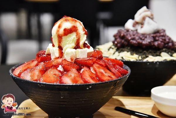 新北市林口-那間賣冰的咖啡店-超浮誇草莓雪冰好吸睛,IG上的超人氣打卡店 @民宿女王芽月-美食.旅遊.全台趴趴走
