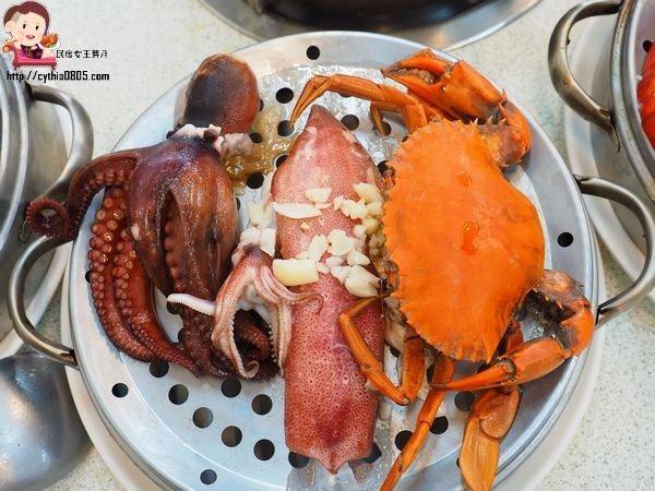 新北市永和-二月牌沙茶爐-生猛海鮮新鮮煮,扁魚湯頭好甘甜 (邀約) @民宿女王芽月-美食.旅遊.全台趴趴走