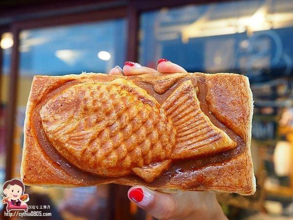 桃園ATT美食-浪花鯛魚燒-火車站周邊美食多,可頌鯛魚燒超合我心意 @民宿女王芽月-美食.旅遊.全台趴趴走