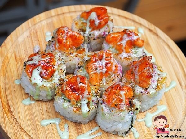 桃園巷弄美食-輕.壽司-8貫創意壽司只賣你80元,輕爽好吃一定要預約