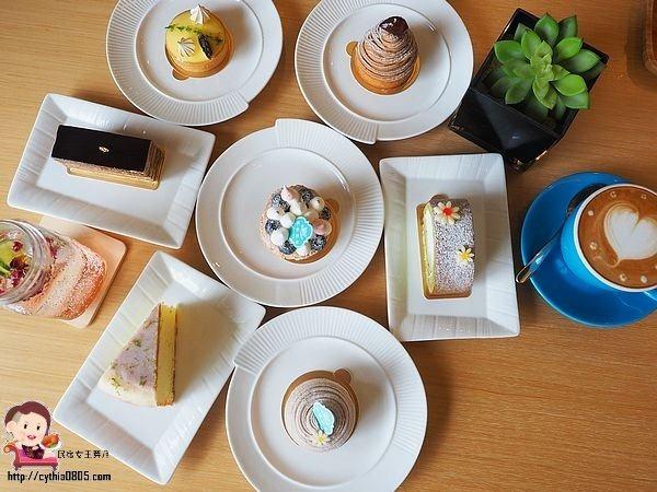 桃園區美食-微楓甜點-低調住宅區內的甜點屋,平價甜點容易掃光 (邀約) @民宿女王芽月-美食.旅遊.全台趴趴走