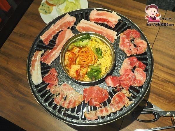 桃園中壢美食-花舞豬韓式烤肉吃到飽-399元吃到飽,五種肉品隨你挑,雞肉真的好好吃哦