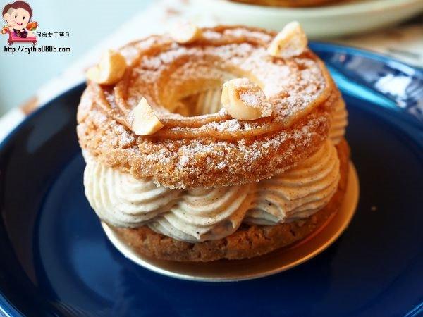 桃園龍潭美食-Maison_406-百年大鎮旁的隱藏版甜點店,落來食甜吃下午茶啦 @民宿女王芽月-美食.旅遊.全台趴趴走