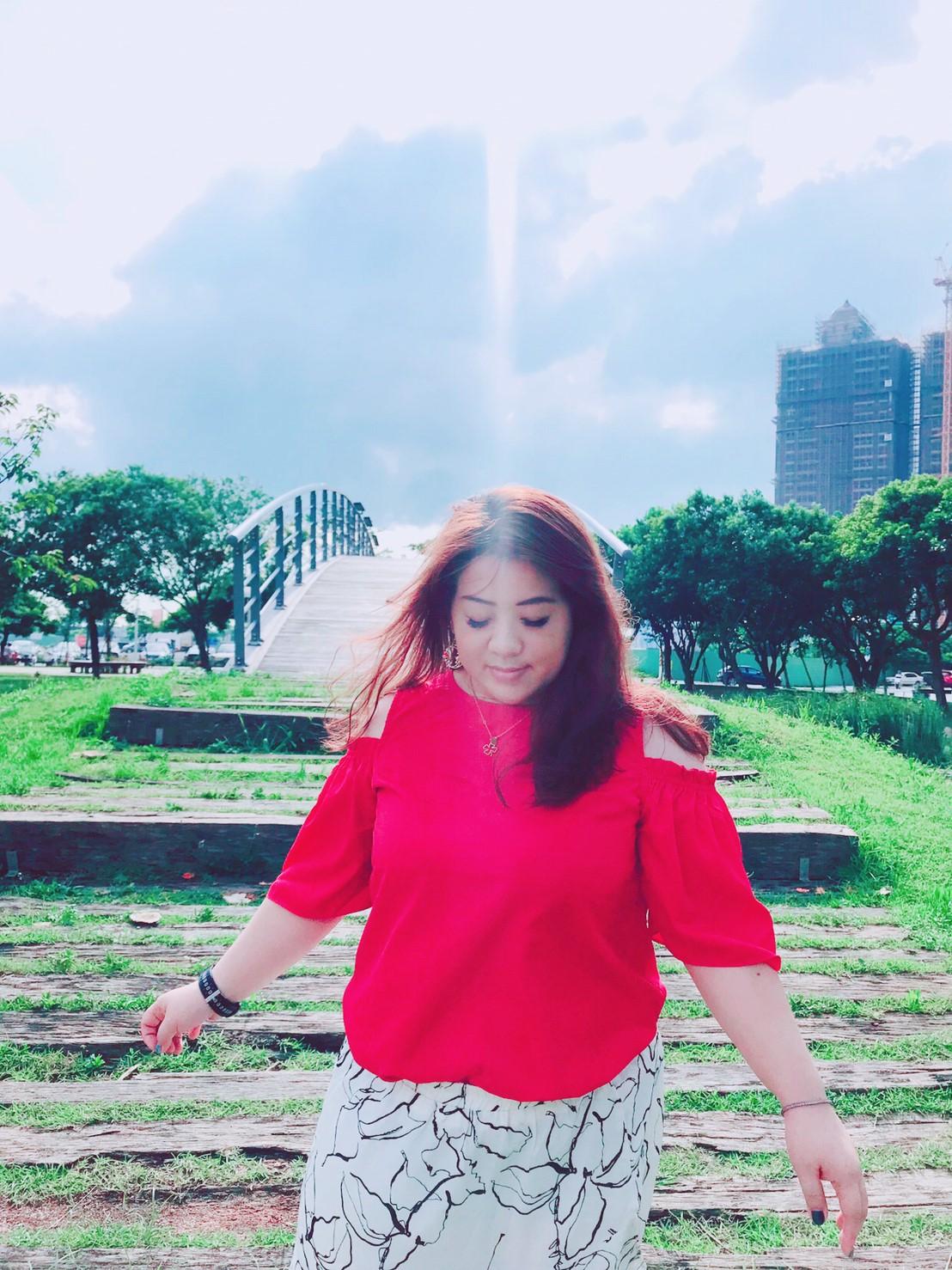 服裝穿搭-棉花糖女孩兒們,自信是你的最佳化妝品 @民宿女王芽月-美食.旅遊.全台趴趴走