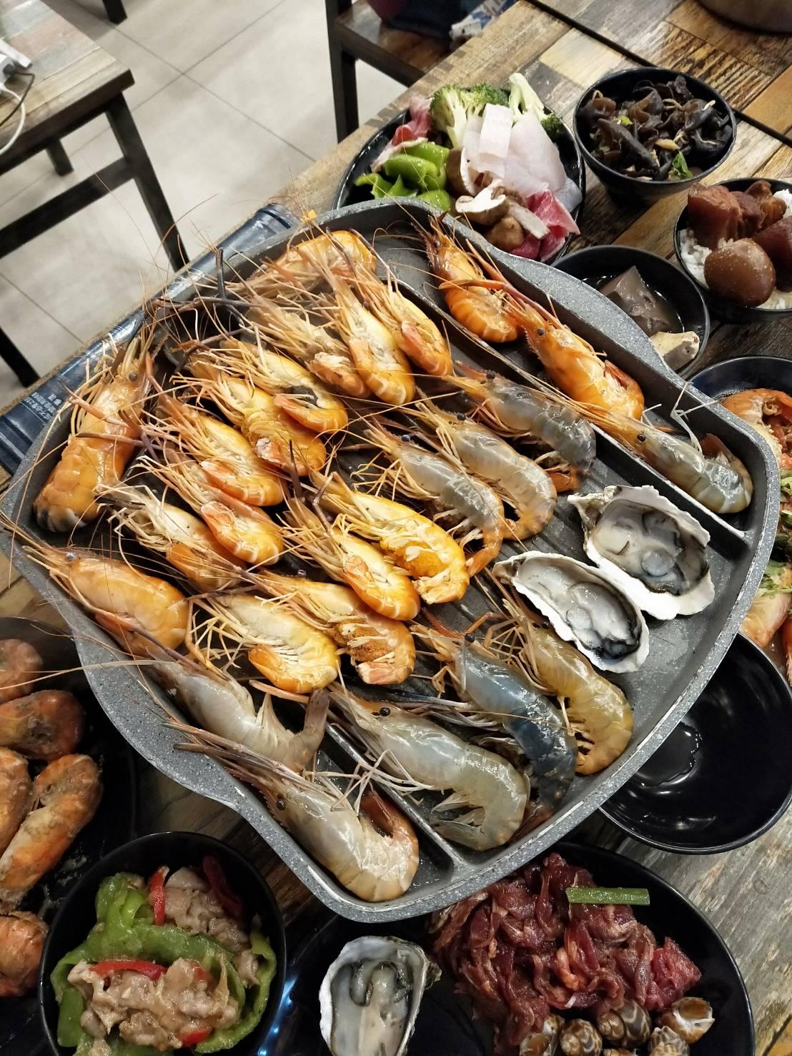 八德吃到飽,八德美食,大湳,廣福路,泰國蝦吃到飽,泰蝦樂,流水蝦,流水道,熟食,生啤酒,生蠔,祿貝爾幼兒園,魚下巴