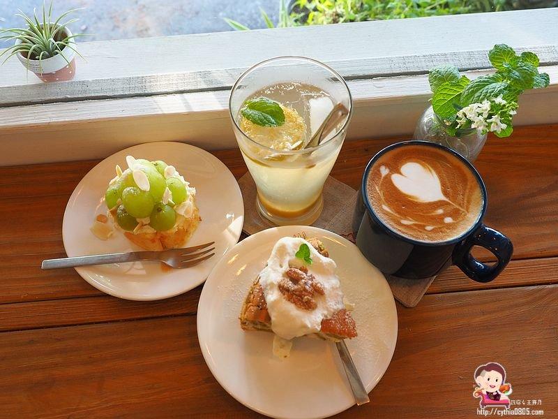 桃園火車站美食-我在這裡-火車站巷弄咖啡廳,你在那裡,我就在這裡等你