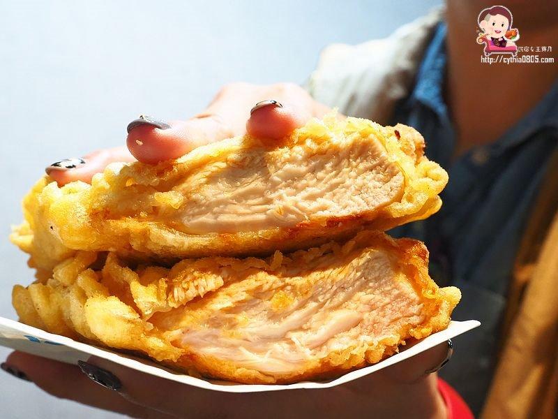 桃園中壢美食-精靈雞排新生店-比臉大雞排超平價,多汁鮮甜的雞翅絕對要大推  (邀約)