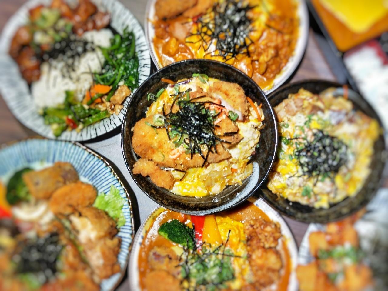 桃園中壢美食-樂福和洋食堂-大份量丼飯好划算,100元日式便當讓你吃飽飽  (邀約)