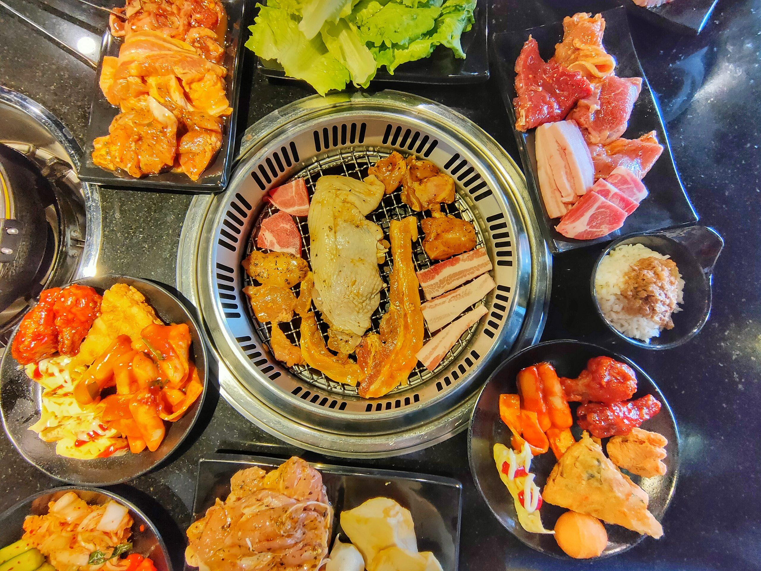 桃園藝文特區美食-豬對有燒烤吃到飽-299韓式烤肉吃到飽,限定頭三天四人同行一人免費