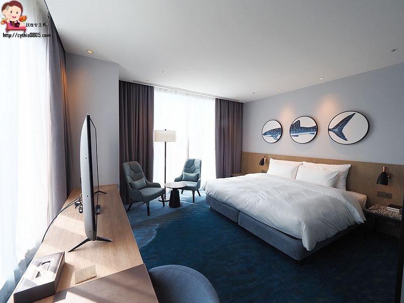 桃園住宿-COZZI Blu 和逸飯店‧桃園館-高鐵青埔的舒適住宿,以海洋為名,倘佯在大海裡