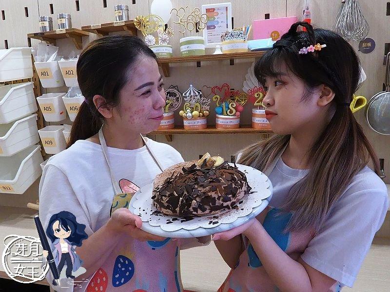 桃園夜市,桃園烘焙,烘焙DIY,自己的蛋糕自己做,二人同行一人免費