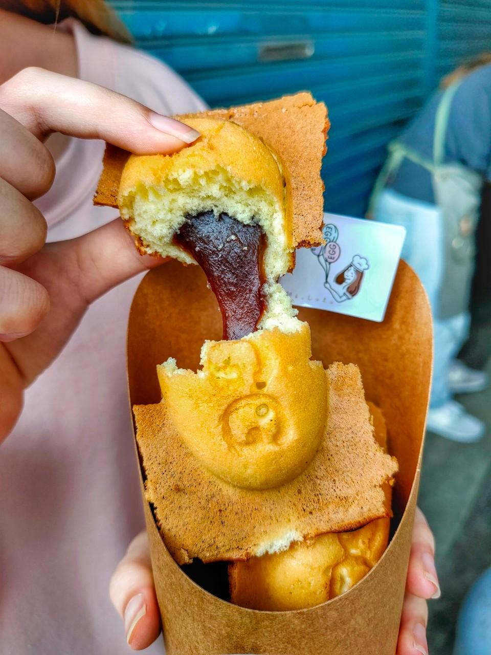 IG,LULU雞蛋糕,三杯米血,創意雞蛋糕,大溪下午茶,大溪美食,小吃,抹茶奶酥,皮蛋,麻油雞 @民宿女王芽月-美食.旅遊.全台趴趴走