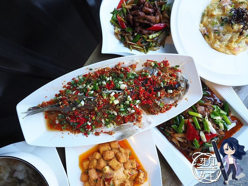 桃園龍潭-金皇天下館-四菜一魚一湯居然不用1000元,超划算的外帶餐  (邀約)