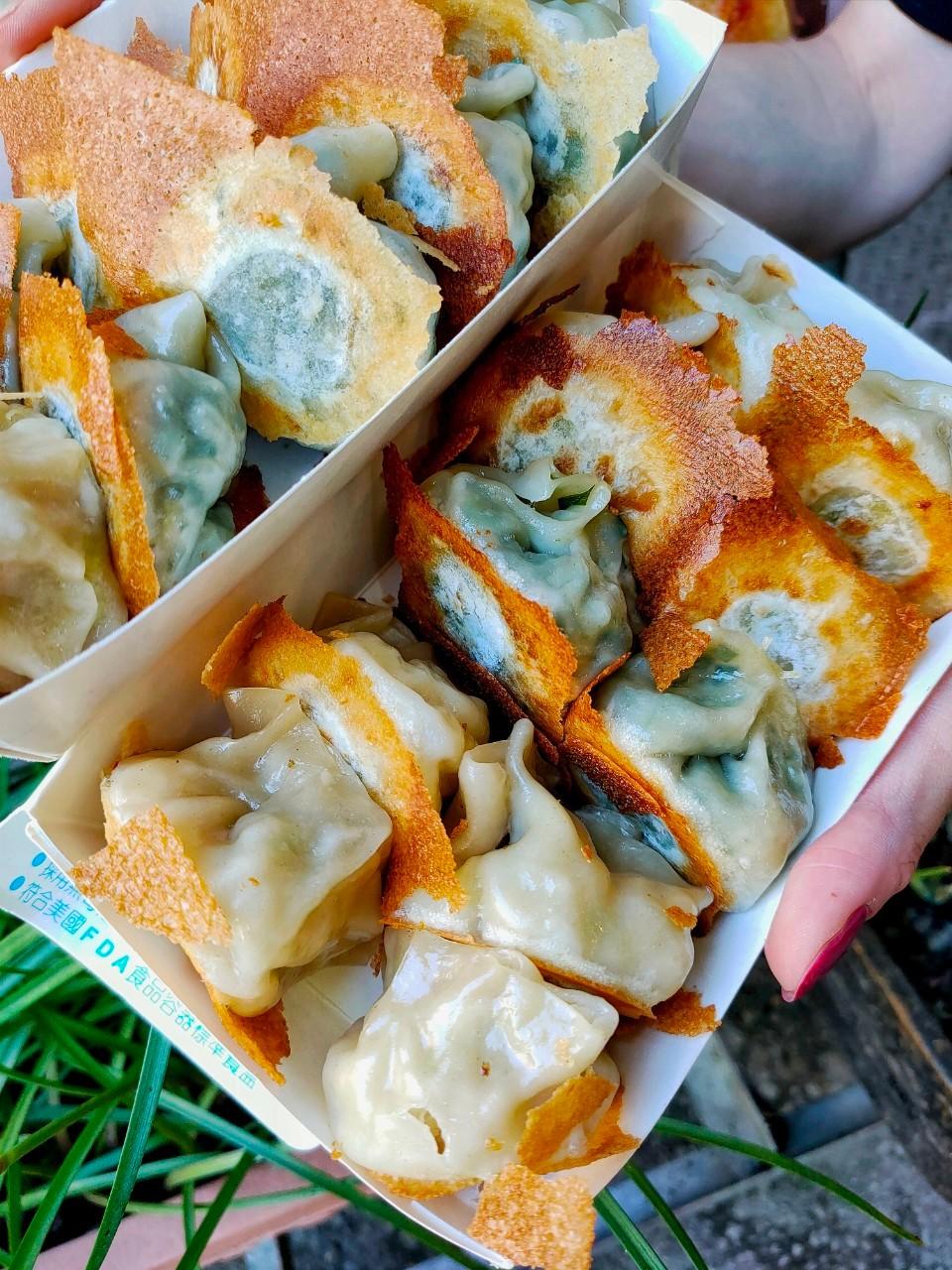 大園美食,大園早餐,大園下午茶,大園菜市場,八兩一,雪花煎餃,大滿貫,蔥油餅