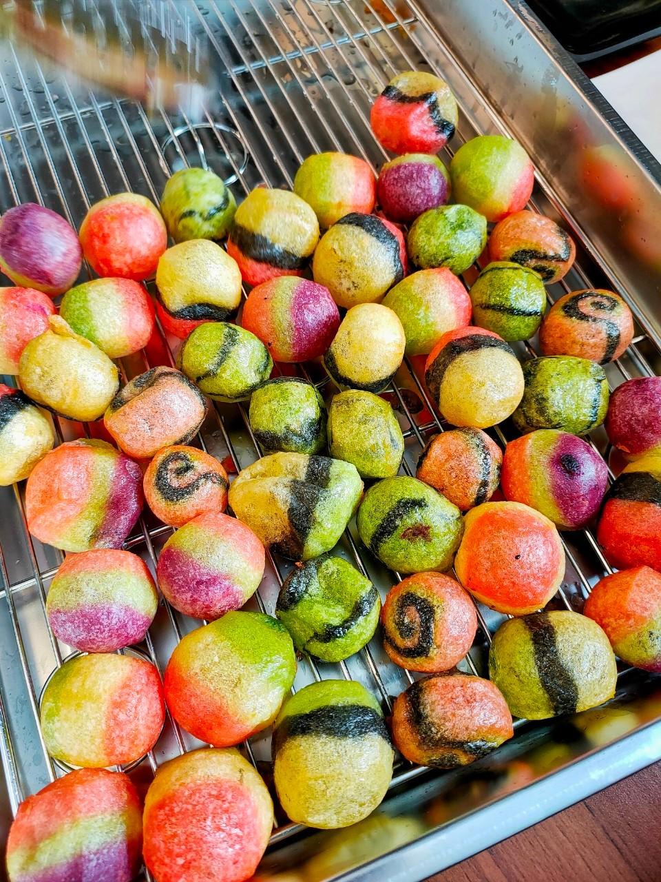 彩色地瓜球,神奇寶貝球,草漯,草漯夜市,觀音下午茶,觀音小吃,觀音美食