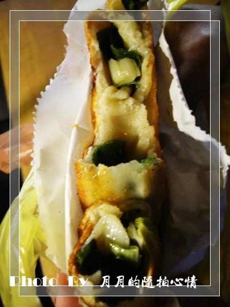 新明夜市-宜蘭蔥餅 @民宿女王芽月-美食.旅遊.全台趴趴走