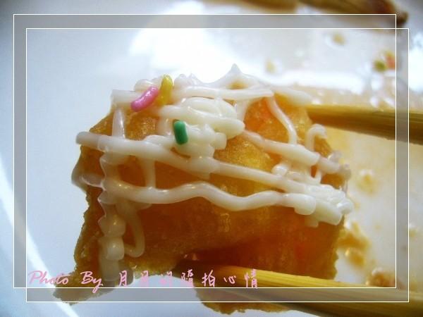 體驗-晶湯匙泰式主題餐廳-鳳梨蝦球好威啊~ @民宿女王芽月-美食.旅遊.全台趴趴走