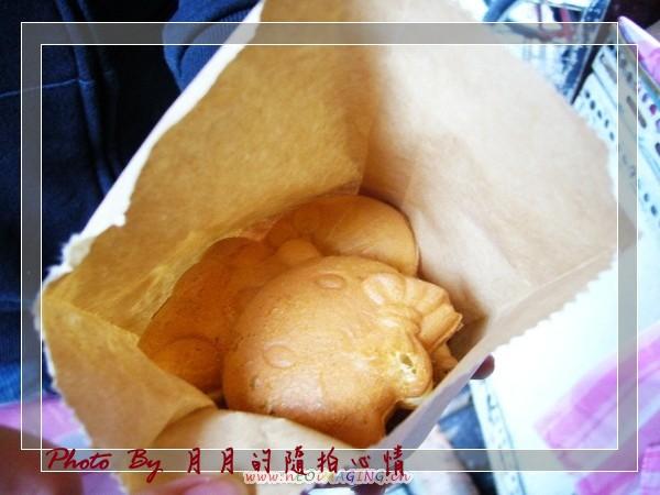 桃園-阿伯雞蛋糕 @民宿女王芽月-美食.旅遊.全台趴趴走