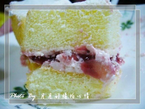 「團購」自由之丘-膠原草莓蛋糕 @民宿女王芽月-美食.旅遊.全台趴趴走