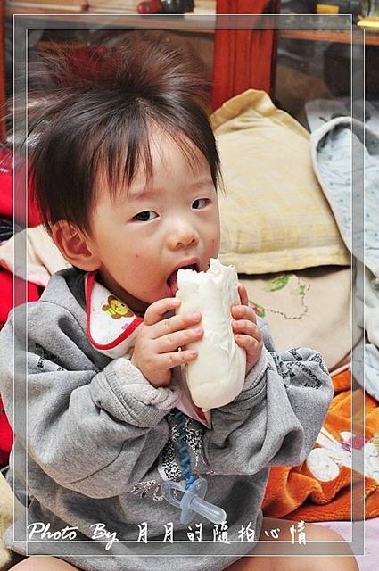 任任-1Y2M-大口大口的吃吧! @民宿女王芽月-美食.旅遊.全台趴趴走