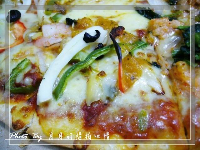 試吃-達美樂海宴雙拚大披薩–龍蝦醬讓人意猶未盡 @民宿女王芽月-美食.旅遊.全台趴趴走