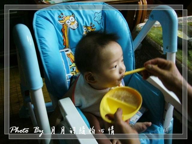 小任-7M記錄–無齒之徒的第一口副食品 @民宿女王芽月-美食.旅遊.全台趴趴走