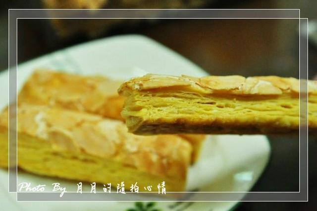 大溪-老街內拿破崙蛋糕-意外發現的美味小蛋糕 @民宿女王芽月-美食.旅遊.全台趴趴走