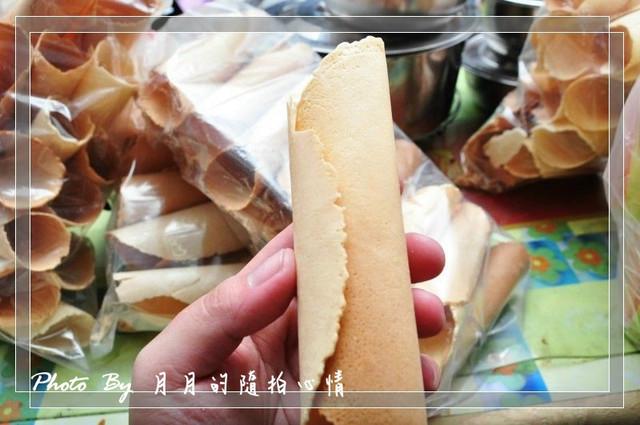 金門-閩式傳統蛋捲-想吃就要憑運氣 @民宿女王芽月-美食.旅遊.全台趴趴走