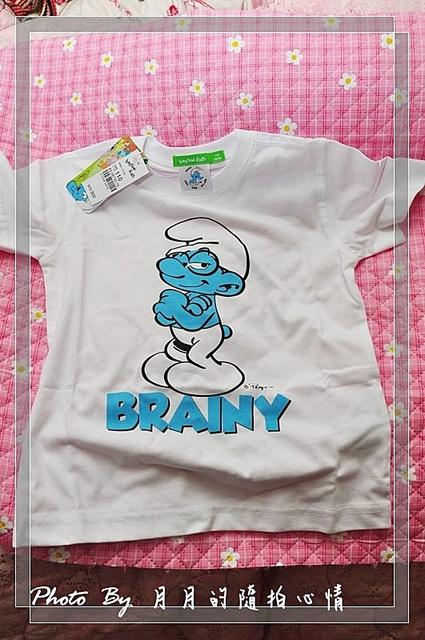 寫手-Bossini藍色小精靈T恤-穿出活力風采 @民宿女王芽月-美食.旅遊.全台趴趴走